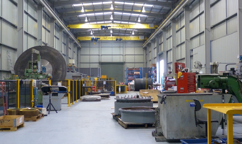 Firmins Lane Engineering workshop